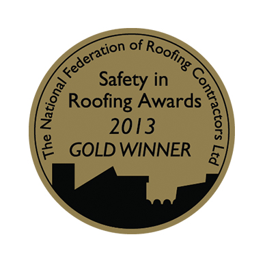 NFRC Safety in Roofing Gold 2013