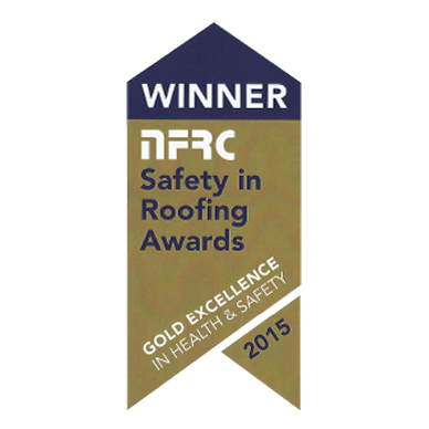 NFRC Safety in Roofing Gold 2015
